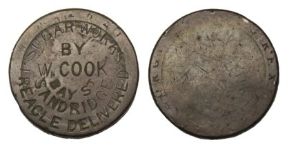 Australia, W.C. Cook, Copper Penny Token