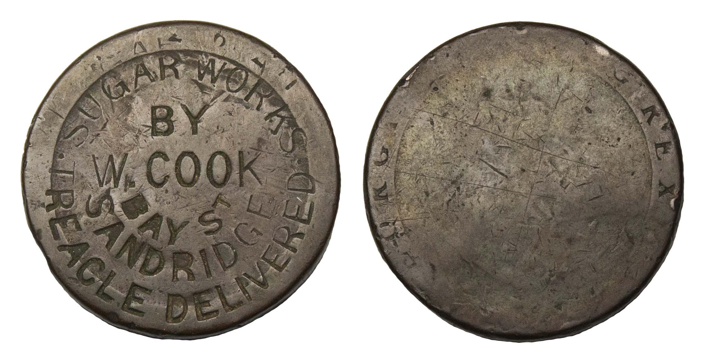 Australia, W.C. Cook, Copper Penny Token