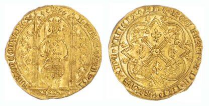Charles V France Gold A'Pied