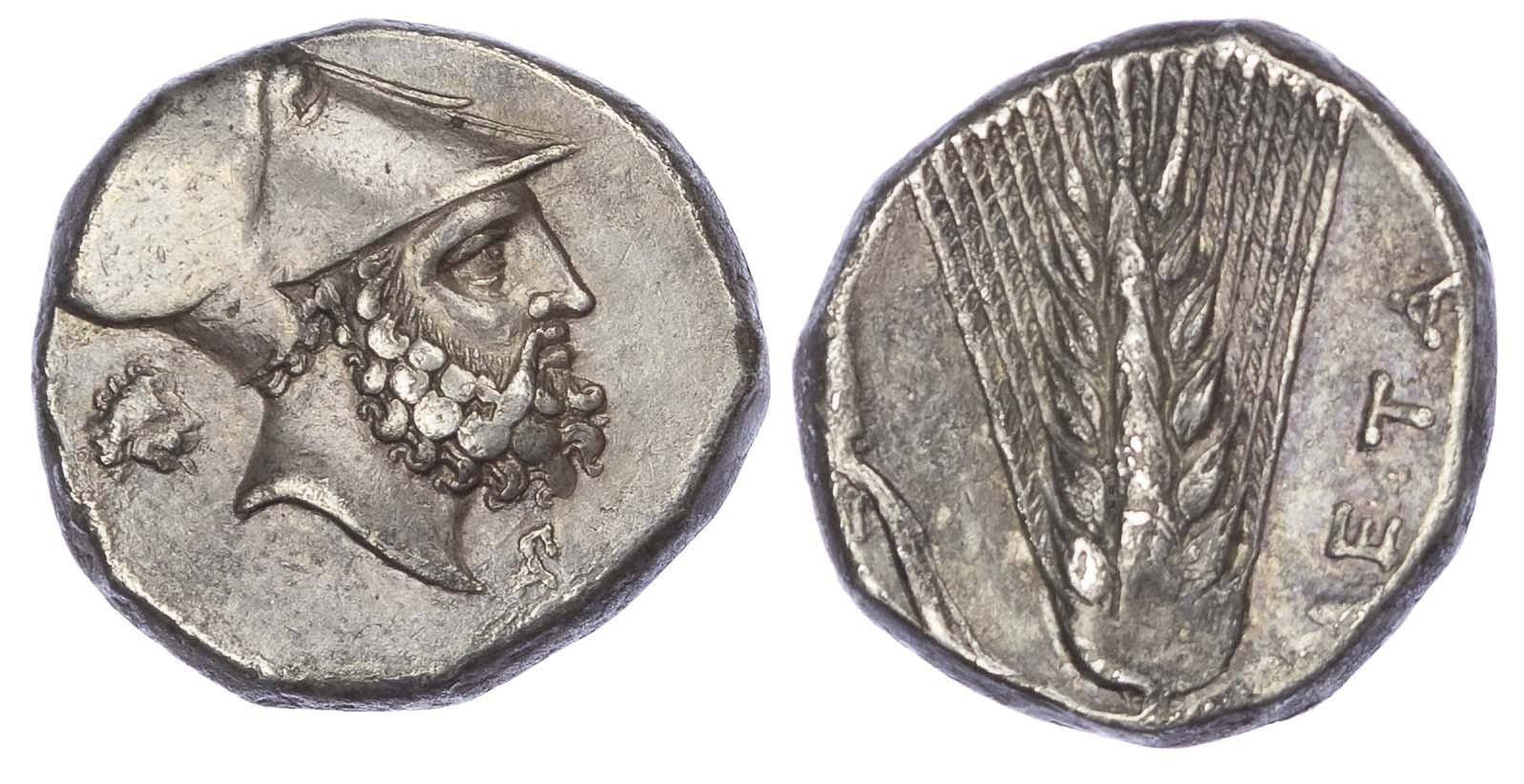 Lucania, Metapontum, Silver Nomos