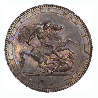 1818 LVIII George III Crown Almost Uncirculated