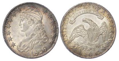 USA, Capped Bust, silver Half Dollar, 1826, Philadelphia