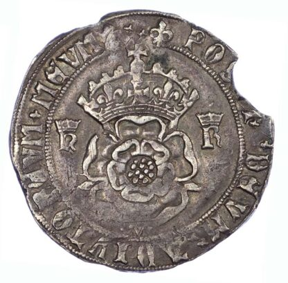 Henry VIII Testoon S2364 About EF for issue