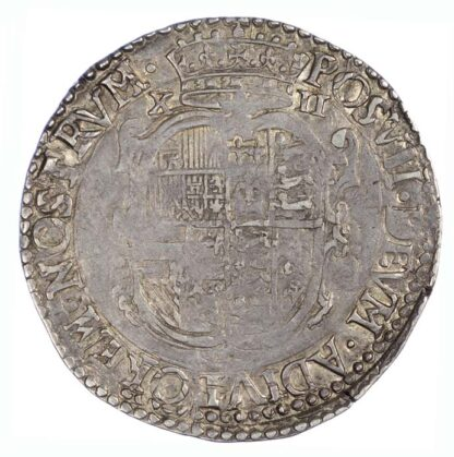 1555 Philip and Mary Shilling English Titles Only S2501