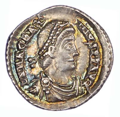Magnus Maximus, Silver Siliqua