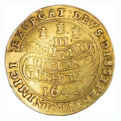 1642 Charles I Triple Unite S2724