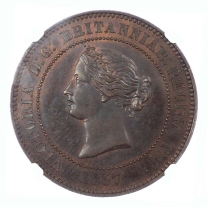 1857 Decimal Pattern Five Farthings - 10 Centimes