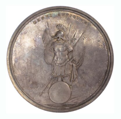 GB, Military and Naval Reward, 1685, Silver Medal