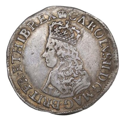 Charles II (1660-85) Hammered, First Issue Shilling