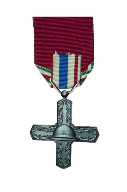 Italian Commemorative Active Cross for Vittorio Veneto