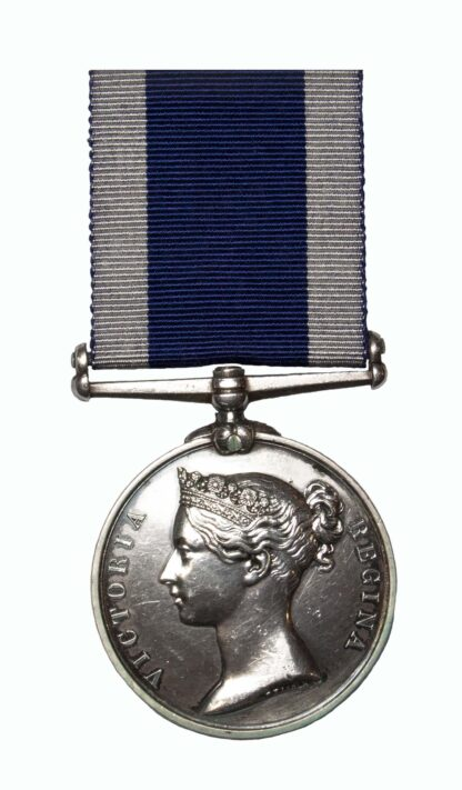 Royal Navy Long Service & Good Conduct Medal, QVR, to Sergeant S. J. Miller