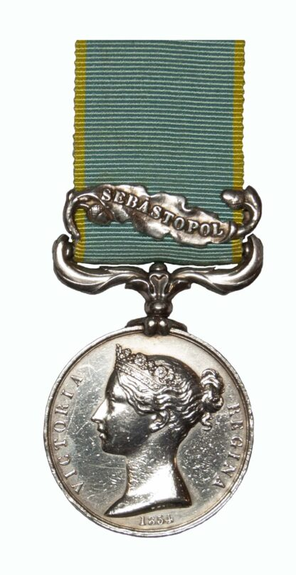 Crimea Medal 1854-55 awarded to J. Kendall