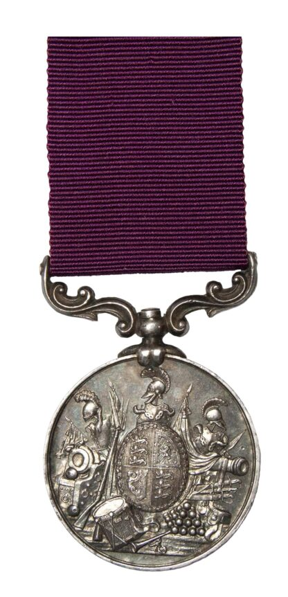 An Army Long Service and Good Conduct Medal to Quarter Master Sergeant John Woodford