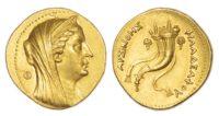 Arsinoe II, Gold Octadrachm