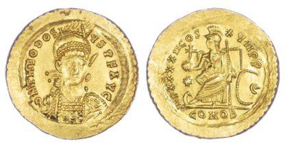 Theodosius II, Solidus
