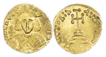 Theodosius III Gold Solidus