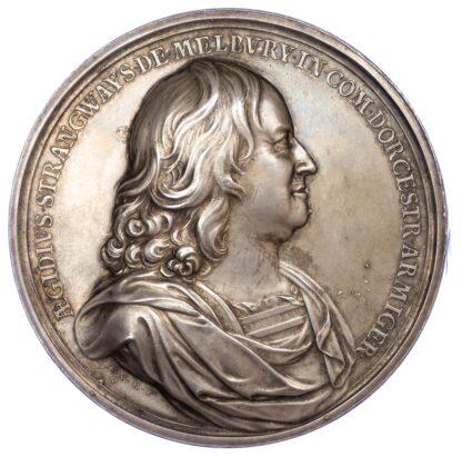 Charles II, Release of Giles Strangways, 1648, Silver Medal