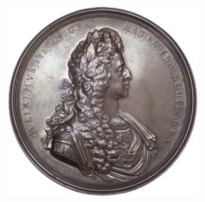 William III, State of Britain (following the Peace of Ryswick) 1697, Silver medal