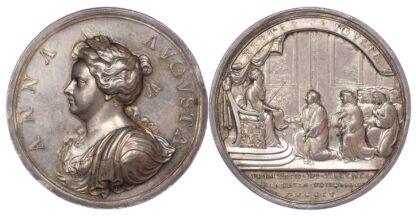 Queen Anne's Bounty, 1704, Silver Medal