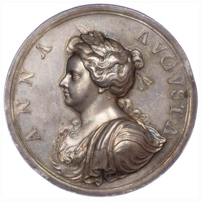 Queen Anne's Bounty, 1704, Silver Medal