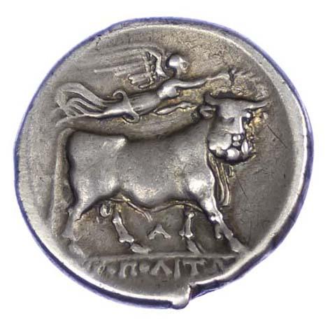 Campania, Neapolis, Silver Didrachm