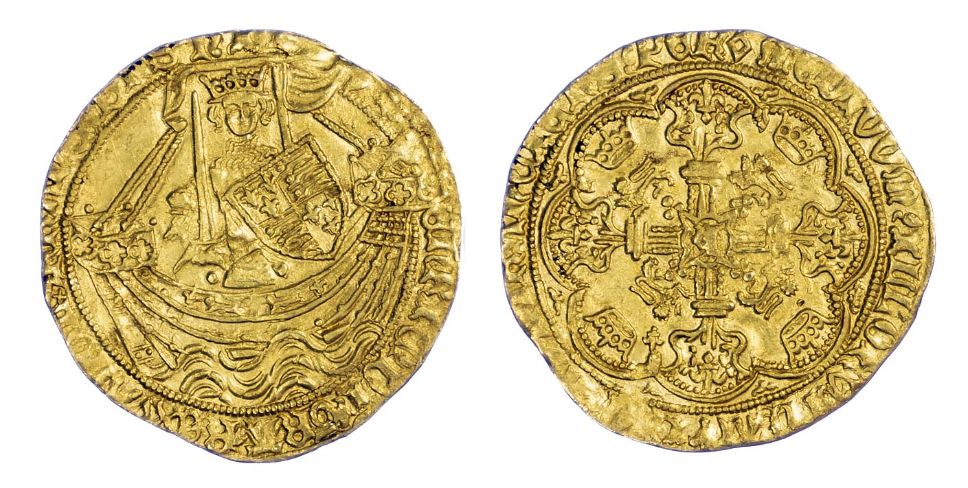 Henry VI Noble S1824 About Extremely Fine