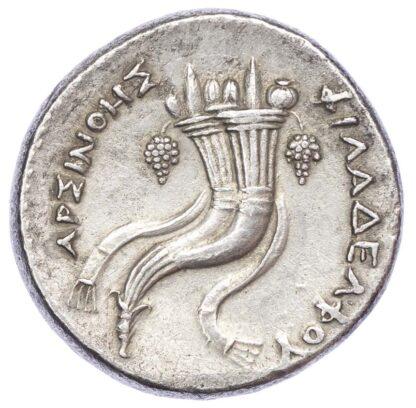 Egypt, Ptolemy II, Silver Decadrachm