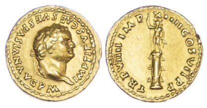 Titus, Gold Aureus