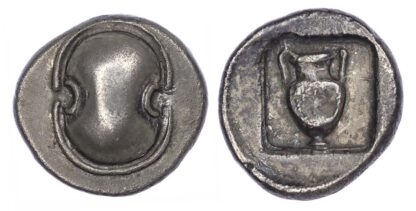 Boeotia, Federal Coinage, Silver Drachm