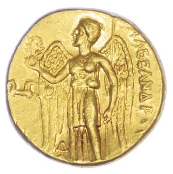 Alexander the Great, Gold Stater, lifetime issue