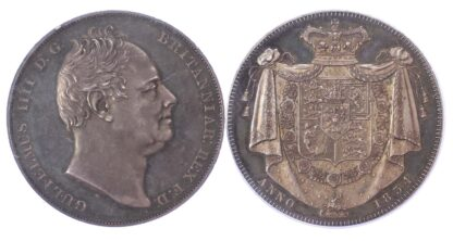 1834 William IV Proof Silver Crown Proof 64 Cameo