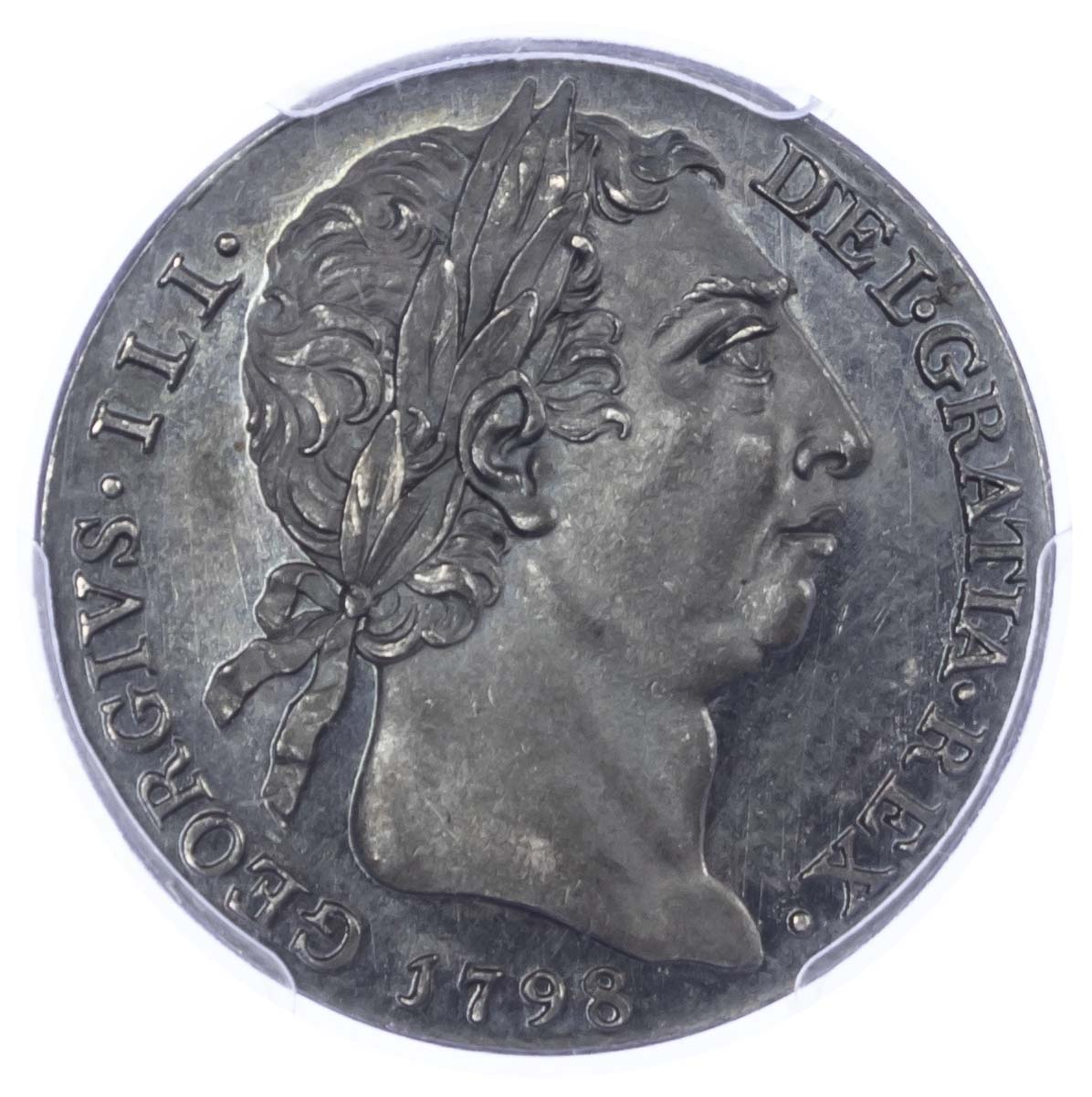 George III, 1798, Silver Proof Pattern Shilling, by Milton Finest Known