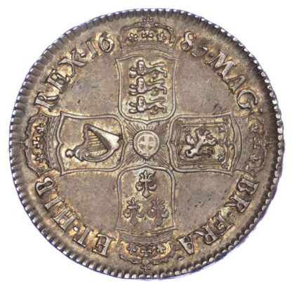 James II, 1685 Halfcrown