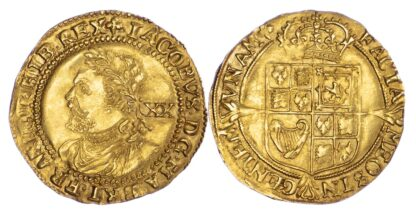 James I, Laurel, Third Coinage