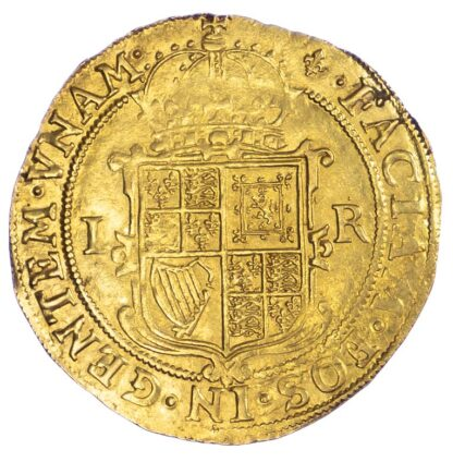 James I, Unite, Second Coinage Extremely Fine