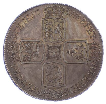 George II, 1750 Crown