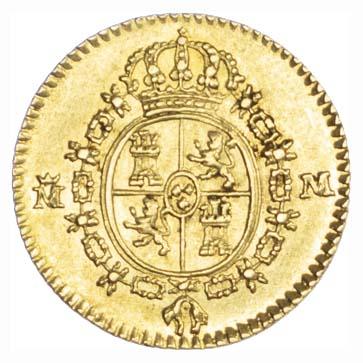 Spain, Carlos IV, 1/2 Escudos 1788