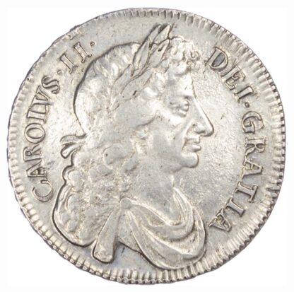 Charles II (1660-85) Halfcrown, 1676, fourth bust