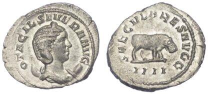 Otacillia Severa, Silver Antoninianus