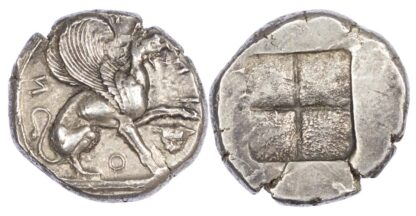 Ionia, Teos, Silver Stater