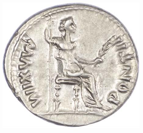 Tiberius, Silver Denarius