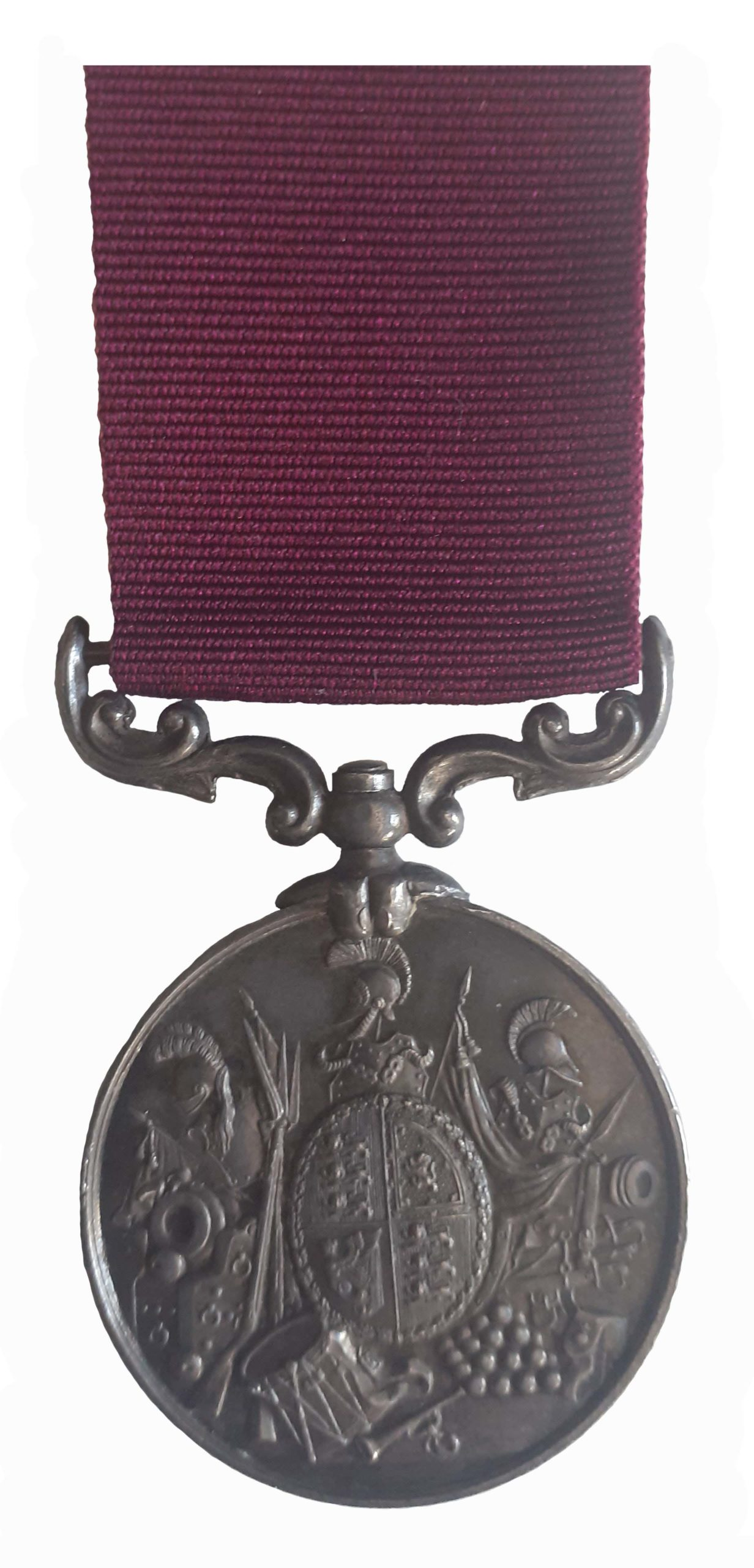 Long Service & Good Conduct Medal, QVR, to Troop Sergeant Major Ephraim Thomas