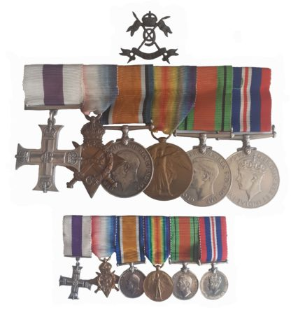 A Great War, Military Cross Group to the 9th Lancers for Reconnaissance Patrols who also saw service in WW2 to Captain (later Honorary Major) William Thomas Pott
