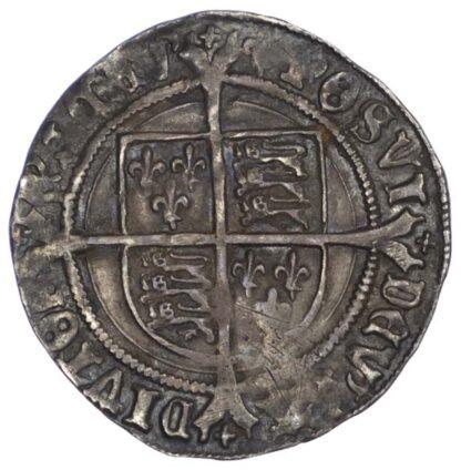 Henry VIII (1509-47), Groat, second coinage, mintmark lis
