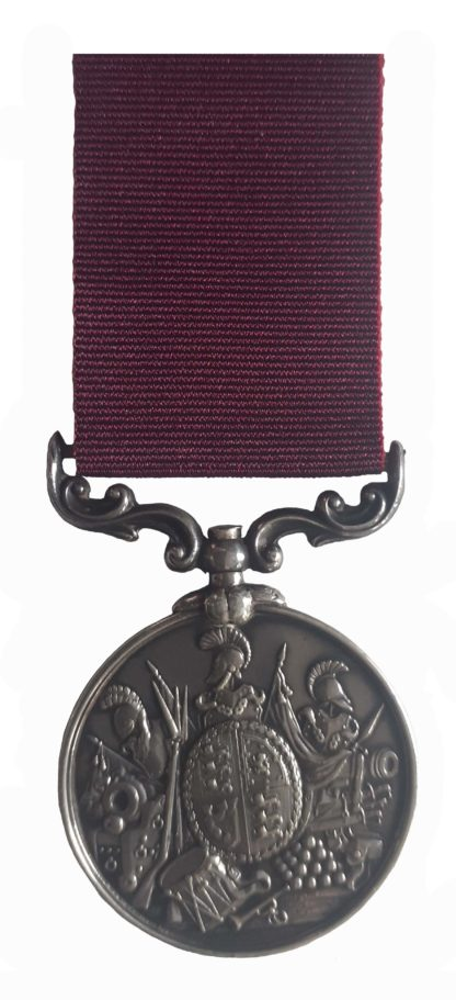 Army Long Service & Good Conduct Medal, QVR, to Colour Sergeant W. Chapman