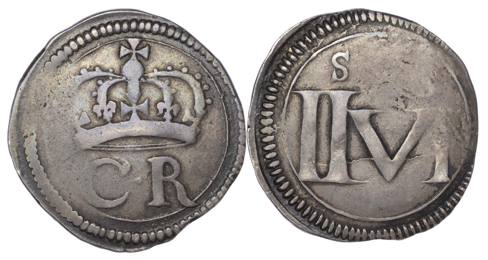 Ireland, Charles I, Ormonde Money Halfcrown