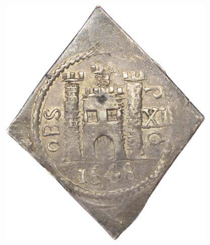 Charles I (1625-49), Pontefract Shilling, 1648