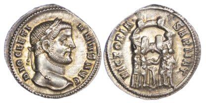 Diocletian, Silver Argenteus