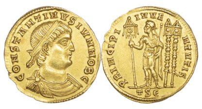 Constantine II, Gold Solidus