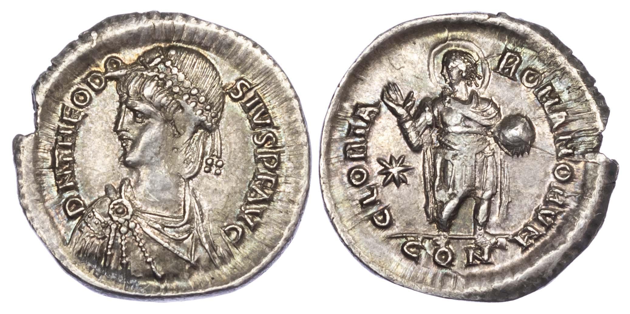 Theodosius II, Silver Miliarense